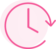 Time-Saving icon for The Laundry Room, Charlotte's best laundromat. Located on Arrowood Road, our store also offers dry cleaning, wash-and-fold, and laundry delivery services. Visit us today!